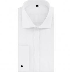 Koszula RICCARDO 15-12-03. Białe koszule męskie na spinki Giacomo Conti, m, z bawełny, z klasycznym kołnierzykiem, z długim rękawem. Za 299,00 zł.