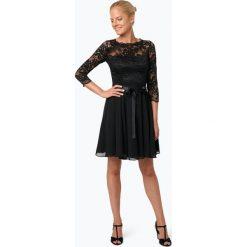 Swing - Elegancka sukienka damska, czarny. Czarne sukienki balowe marki Swing, w koronkowe wzory, z koronki. Za 699,95 zł.