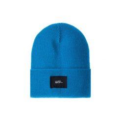 Czapka Beanie Blue Ocean. Niebieskie czapki zimowe damskie Harp Team, z dzianiny, klasyczne. Za 49,00 zł.