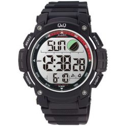 Biżuteria i zegarki męskie: Zegarek Q&Q Męski M119-004 Metronom