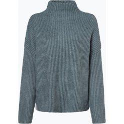 Vila - Sweter damski z dodatkiem moheru, niebieski. Niebieskie swetry klasyczne damskie Vila, xs, z dzianiny. Za 219,95 zł.