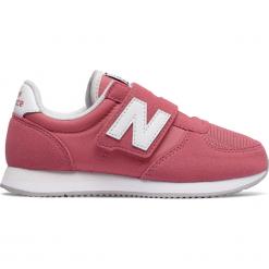 New Balance KV220CPY. Różowe buty sportowe chłopięce marki New Balance, z materiału. W wyprzedaży za 129,99 zł.
