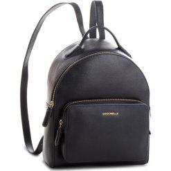 Plecak COCCINELLE - CF5 Clementine E1 CF5 14 01 01 Bleu B11. Brązowe plecaki damskie marki Coccinelle, ze skóry. W wyprzedaży za 869,00 zł.