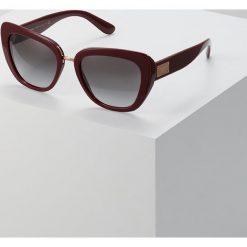Dolce&Gabbana Okulary przeciwsłoneczne grey. Czerwone okulary przeciwsłoneczne damskie lenonki Dolce&Gabbana. Za 799,00 zł.