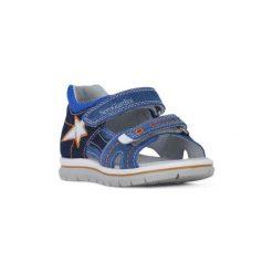Sandały Dziecko  Nero Giardini  NERO GIARDINI  VELOUR. Niebieskie sandały chłopięce Nero Giardini. Za 267,58 zł.