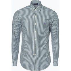 Polo Ralph Lauren - Koszula męska – Slim Fit, zielony. Zielone koszule męskie slim marki Polo Ralph Lauren, l, z haftami, polo. Za 349,95 zł.