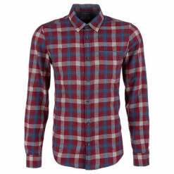 S.Oliver Koszula Męska M Czerwona. Czerwone koszule męskie na spinki S.Oliver, m, z bawełny. Za 159,00 zł.
