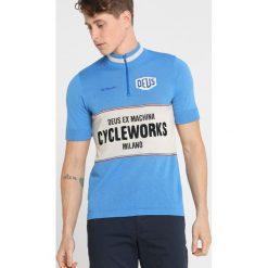 De Marchi CLASSIC Sweter blue. Niebieskie koszulki sportowe męskie De Marchi, m, z bawełny. W wyprzedaży za 575,20 zł.