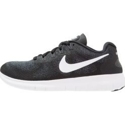 Buty do biegania damskie: Nike Performance FREE RUN 2 Obuwie do biegania neutralne black/white/dark grey/anthracite