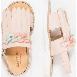 Babywalker Sandały nude. Szare sandały chłopięce marki Babywalker, z materiału, klasyczne. Za 309,00 zł.