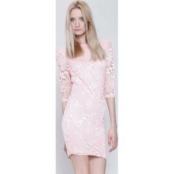 Sukienki hiszpanki: Różowa Sukienka So Good to Me