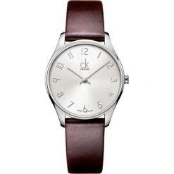 ZEGAREK CALVIN KLEIN CLASSIC MIDSIZE K4D221G6. Szare zegarki męskie marki Calvin Klein, szklane. Za 679,00 zł.