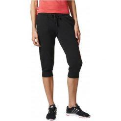 Adidas Spodnie Sportowe Ess Lin 3/4 Pt Black/Core Pink Xs. Czarne spodnie sportowe damskie marki Adidas, s. W wyprzedaży za 109,00 zł.
