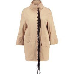 Płaszcze damskie: Sisley Krótki płaszcz kaki