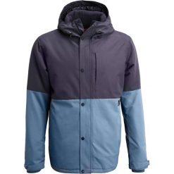 Brunotti DELAWARE  Kurtka snowboardowa night blue. Niebieskie kurtki narciarskie męskie Brunotti, m, z materiału. W wyprzedaży za 408,85 zł.