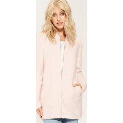 Długa bluza - Różowy. Czerwone długie bluzy damskie marki House, l, z długim rękawem. Za 139,99 zł.