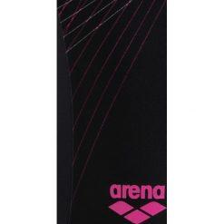 Stroje jednoczęściowe dziewczęce: Arena SPRITE ONE PIECE Kostium kąpielowy black/paparazzi
