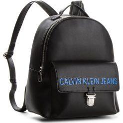Plecak CALVIN KLEIN JEANS - Sculpted Cp Backpack K40K400386 001. Czarne plecaki damskie Calvin Klein Jeans, z jeansu, eleganckie. Za 699,00 zł.