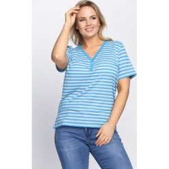 T-shirty damskie: Niebieski T-shirt Last But One