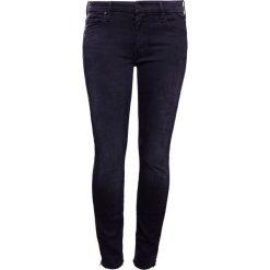 Mother LOOKER ANKLE FRAY Jeans Skinny Fit black. Czarne rurki damskie Mother. Za 1229,00 zł.