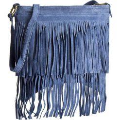 Torebka CREOLE - RBI10156 Niebieski. Niebieskie listonoszki damskie Creole. W wyprzedaży za 119,00 zł.
