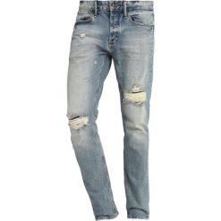 Denham RAZOR Jeansy Slim Fit vibr. Niebieskie jeansy męskie relaxed fit Denham. Za 629,00 zł.