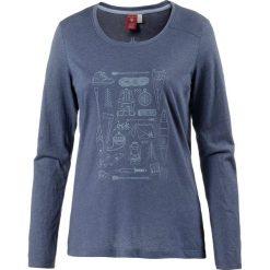 Koszulka w kolorze granatowym. Niebieskie t-shirty damskie OCK, z nadrukiem, z okrągłym kołnierzem. W wyprzedaży za 56,95 zł.