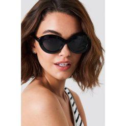 Le Specs Okulary przeciwsłoneczne Fluxus - Black. Czarne okulary przeciwsłoneczne damskie aviatory Le Specs. Za 242,95 zł.