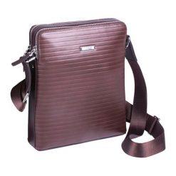 Torebki klasyczne damskie: Skórzana torba w kolorze brązowym – (S)23 x (W)28 x (G)5 cm