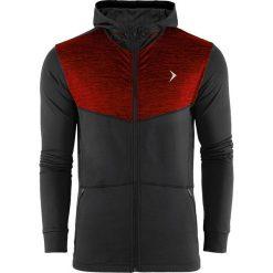 Bejsbolówki męskie: Outhorn Bluza męska HOZ18-BLMF601 czarno-czerwona r. S