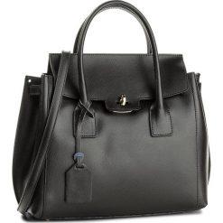 Torebka CREOLE - K10458 Czarny. Czarne torebki klasyczne damskie Creole, ze skóry. W wyprzedaży za 239,00 zł.