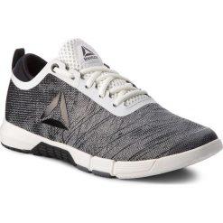 Buty Reebok - Speed Her Tr CN4860 Chalk/Black/Ash Grey. Szare buty do fitnessu damskie marki Reebok, z materiału. W wyprzedaży za 279,00 zł.
