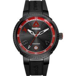 Zegarki męskie: Zegarek kwarcowy w kolorze czarno-czerwonym