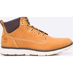 Timberland - Buty Kilington Chukka. Pomarańczowe buty skate męskie Timberland, z materiału, na sznurówki. Za 599,90 zł.