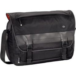 """Torba Hama 1923 """"Munich"""" biznesowa na ramię, na laptopa czarna 001249270000. Czarne torby na laptopa marki HAMA. Za 400,69 zł."""