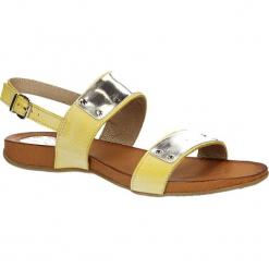 SANDAŁY CARINII B2048-928. Brązowe sandały damskie marki Carinii. Za 170,99 zł.