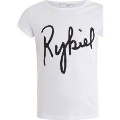Sonia Rykiel ANKARA Tshirt z nadrukiem blanc. Białe t-shirty chłopięce Sonia Rykiel, z nadrukiem, z bawełny. Za 149,00 zł.