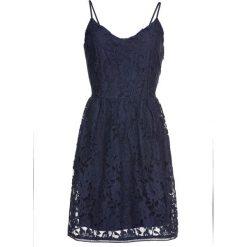 Sukienki: Sukienka koronkowa bonprix ciemnoniebieski