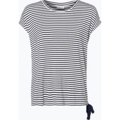 Vila - T-shirt damski – Some, niebieski. Niebieskie t-shirty damskie marki Vila, s, w paski. Za 119,95 zł.