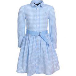 Odzież dziecięca: Polo Ralph Lauren GINGHAM Sukienka koszulowa light blue/white