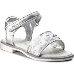 Sandały dziewczęce: Sandały NELLI BLU – CS17087-10 Srebrny