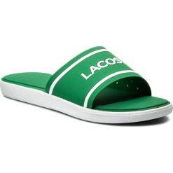 Chodaki męskie: Klapki LACOSTE - L.30 Slide 118 3 Cam 7-35CAM00621R7 Green/White