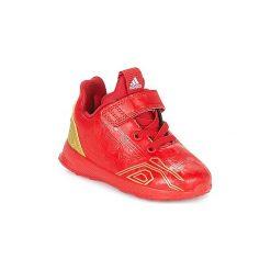 Buty Dziecko adidas  RAPIDARUN AVENGERS C. Czerwone trampki chłopięce Adidas, z motywem z bajki. Za 175,20 zł.