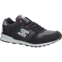 Czarne buty sportowe sznurowane Casu MXC7251. Czarne halówki męskie Casu, na sznurówki. Za 78,99 zł.