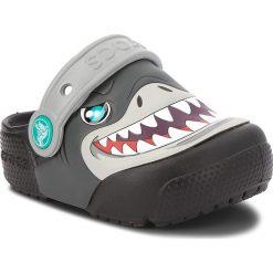 Klapki CROCS - Fun Lab Lights Clog K 205000  Black. Czarne klapki chłopięce marki Crocs, z tworzywa sztucznego. W wyprzedaży za 159,00 zł.