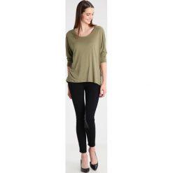 Bluzki damskie: Polo Ralph Lauren Bluzka z długim rękawem basic olive