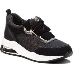 Sneakersy LIU JO - Karlie 06 B68005 TX004 Black/Gold 01040. Czarne sneakersy damskie Liu Jo, z materiału. Za 739,00 zł.