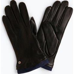 Pearlwood - Rękawiczki damskie ze skóry, czarny. Brązowe rękawiczki damskie marki Roeckl. Za 349,95 zł.