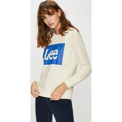 Lee - Bluza. Szare bluzy z nadrukiem damskie Lee, l, z bawełny, bez kaptura. Za 219,90 zł.