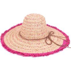 Kapelusz damski Bahamy różowy r. uniwersalny [HANDMADE]. Czerwone kapelusze damskie Art of Polo. Za 69,13 zł.